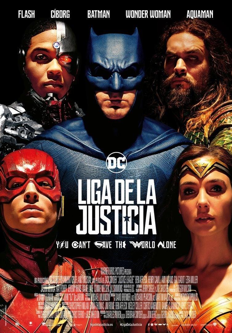 Póster Liga de la Justicia