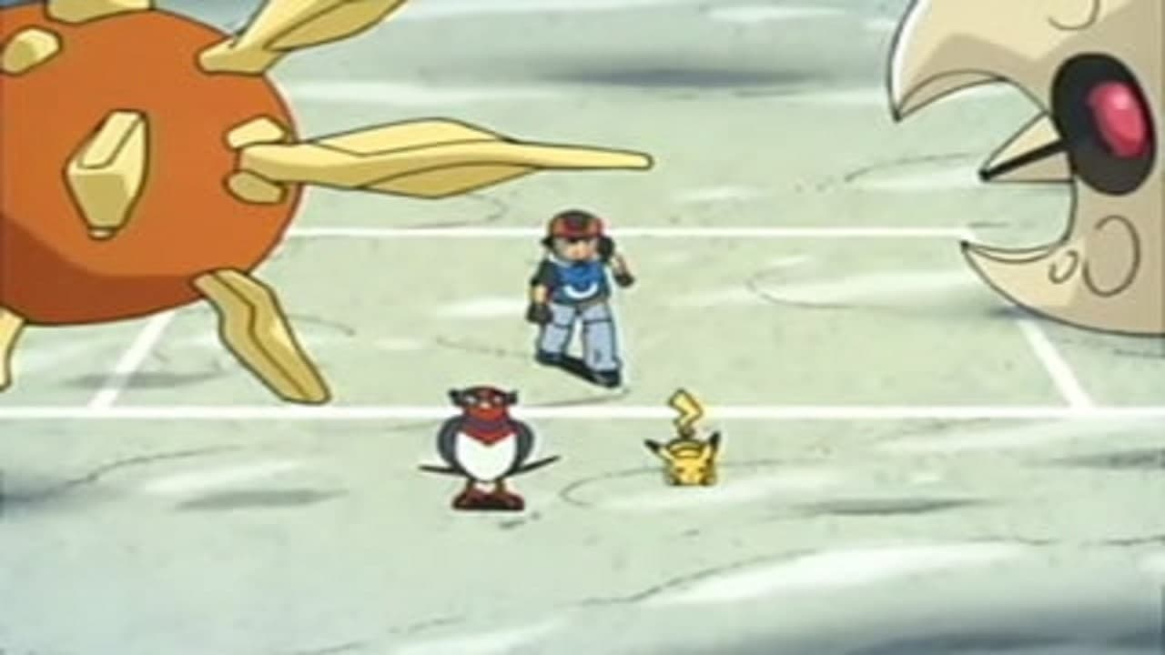 Pokémon Season 8 :Episode 8  Solid as a Solrock
