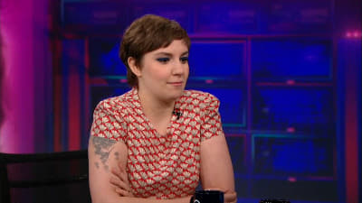 The Daily Show with Trevor Noah Season 18 :Episode 46  Lena Dunham