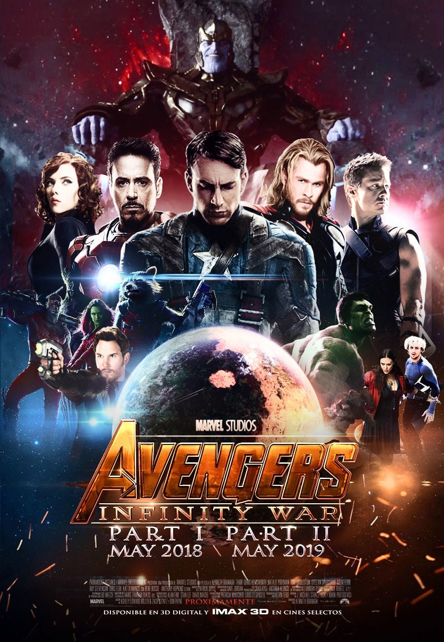 Inception Dvd Cover Art Avengers: Infinity War...