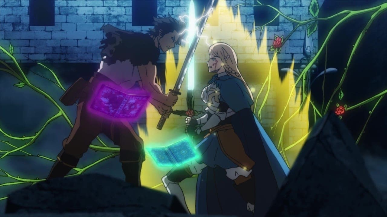 Black Clover Season 2 :Episode 45  The Black Bulls Captain vs. the Crimson Wild Rose