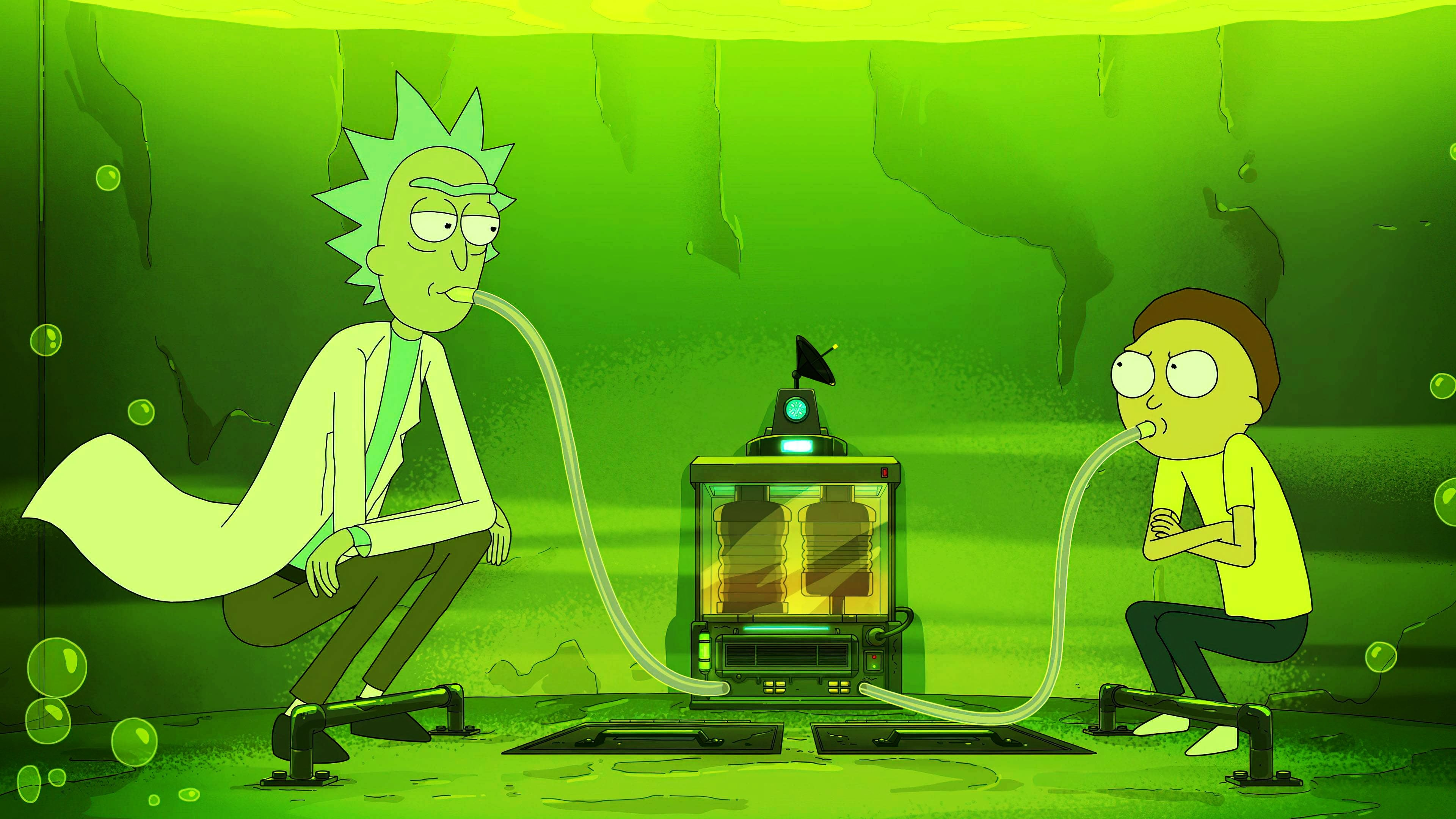 Rick and Morty - Season 4 Episode 8 : The Vat of Acid Episode