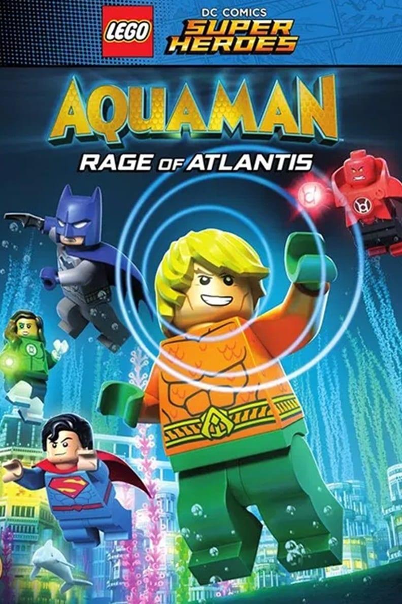Póster LEGO DC Super Heroes Aquaman La Ira De Atlantis