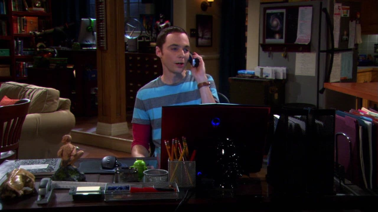 The Big Bang Theory - Season 4 Episode 10 : The Alien Parasite Hypothesis