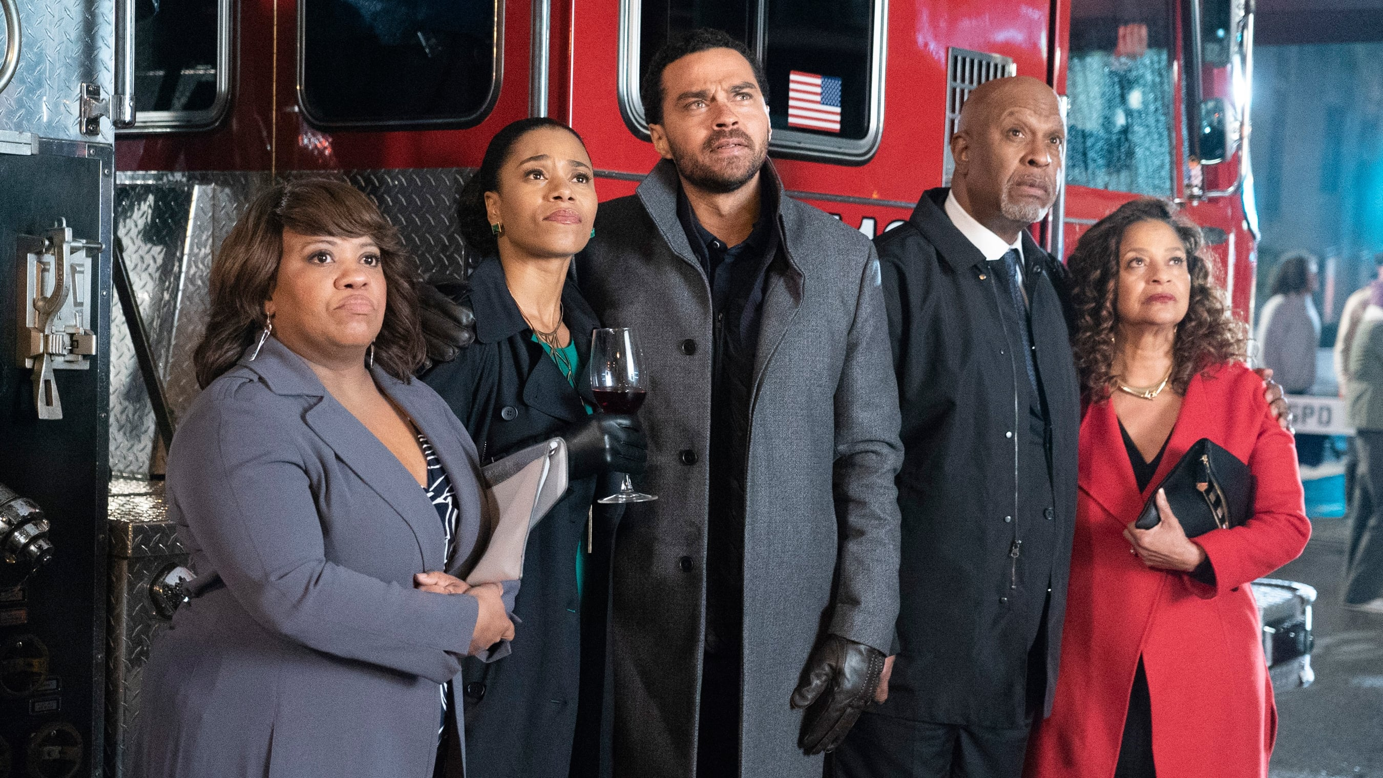 Grey's Anatomy Season 15 :Episode 15  Feuer und Flamme