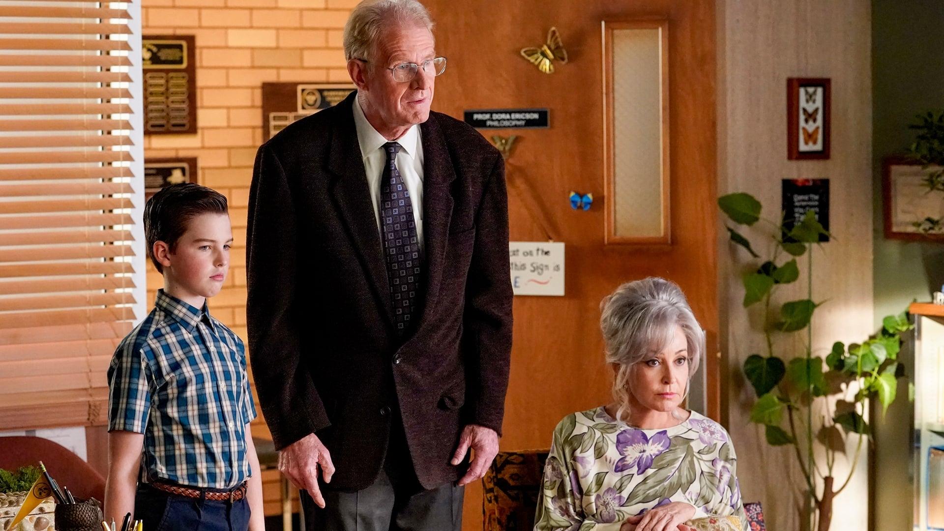 Young Sheldon - Season 4 Episode 8 : An Existential Crisis and a Bear That Makes Bubbles