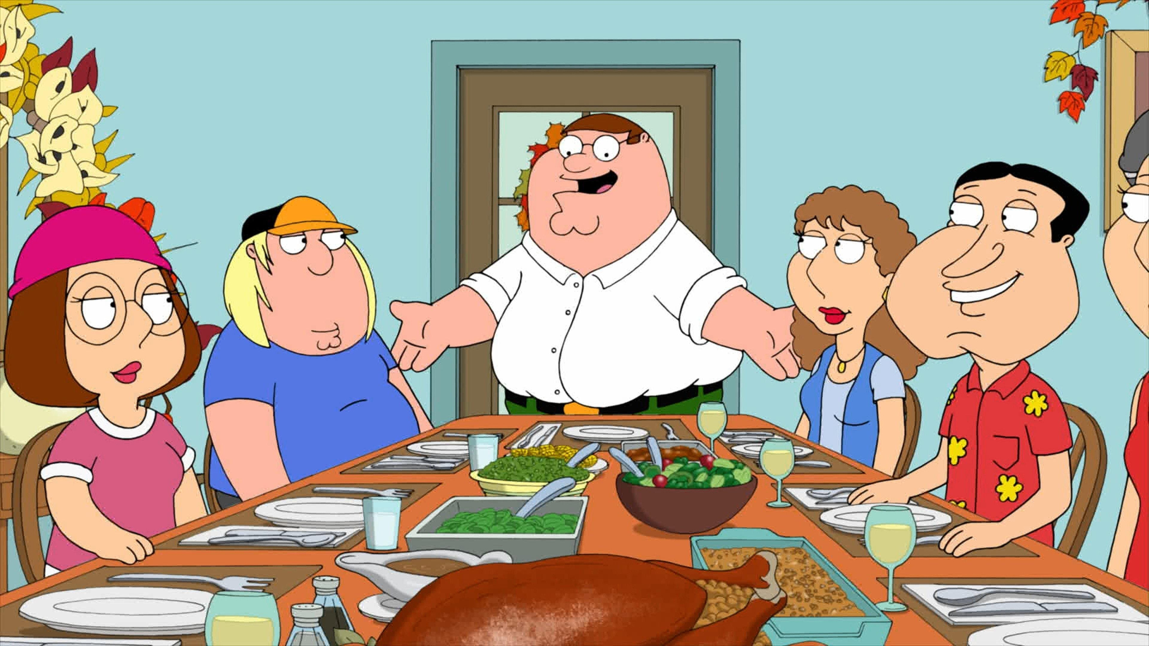 Family Guy Season 10 :Episode 6  Thanksgiving
