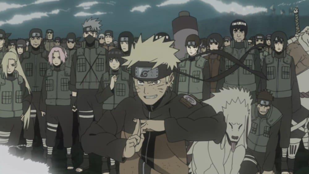 Naruto Shippūden Season 17 :Episode 363  The Allied Shinobi Forces Jutsu!