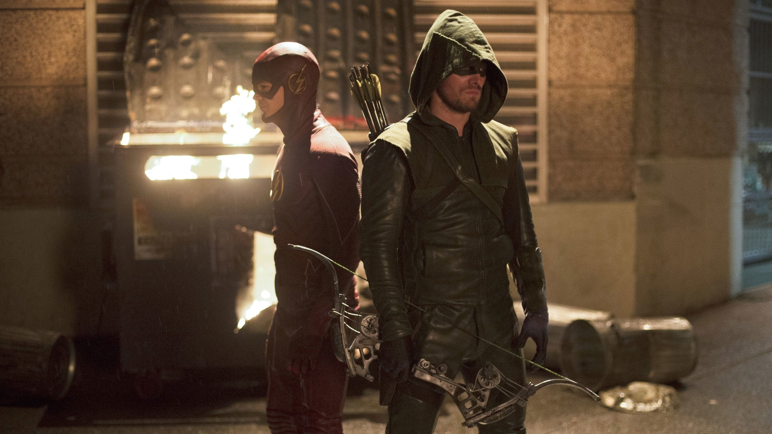 Season 1 :Episode 8  Flash vs. Arrow