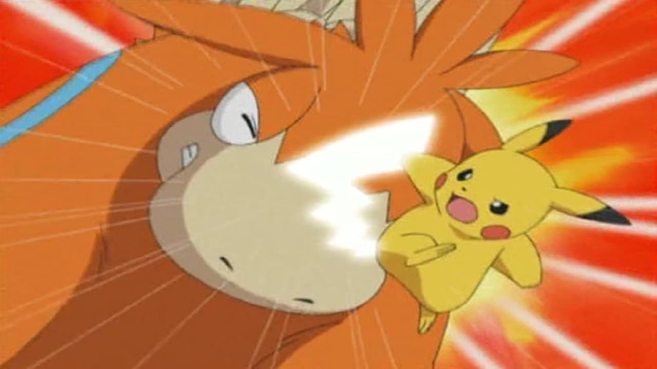 Pokémon Season 7 :Episode 6  Candid Camerupt!