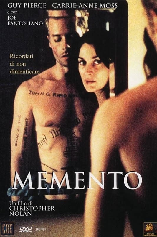 Watch Memento 2000 full movie online free - Fmovies