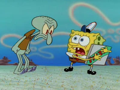 SpongeBob SquarePants Season 1 :Episode 10  Pizza Delivery
