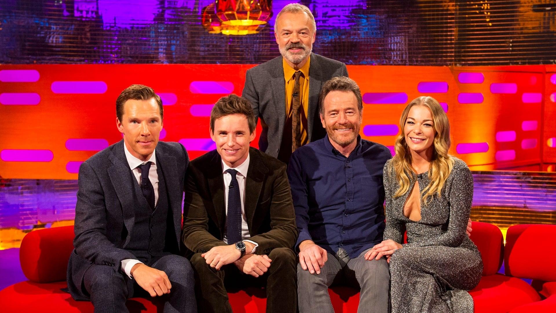 The Graham Norton Show Season 20 :Episode 5  Benedict Cumberbatch, Eddie Redmayne, Bryan Cranston, LeAnn Rimes