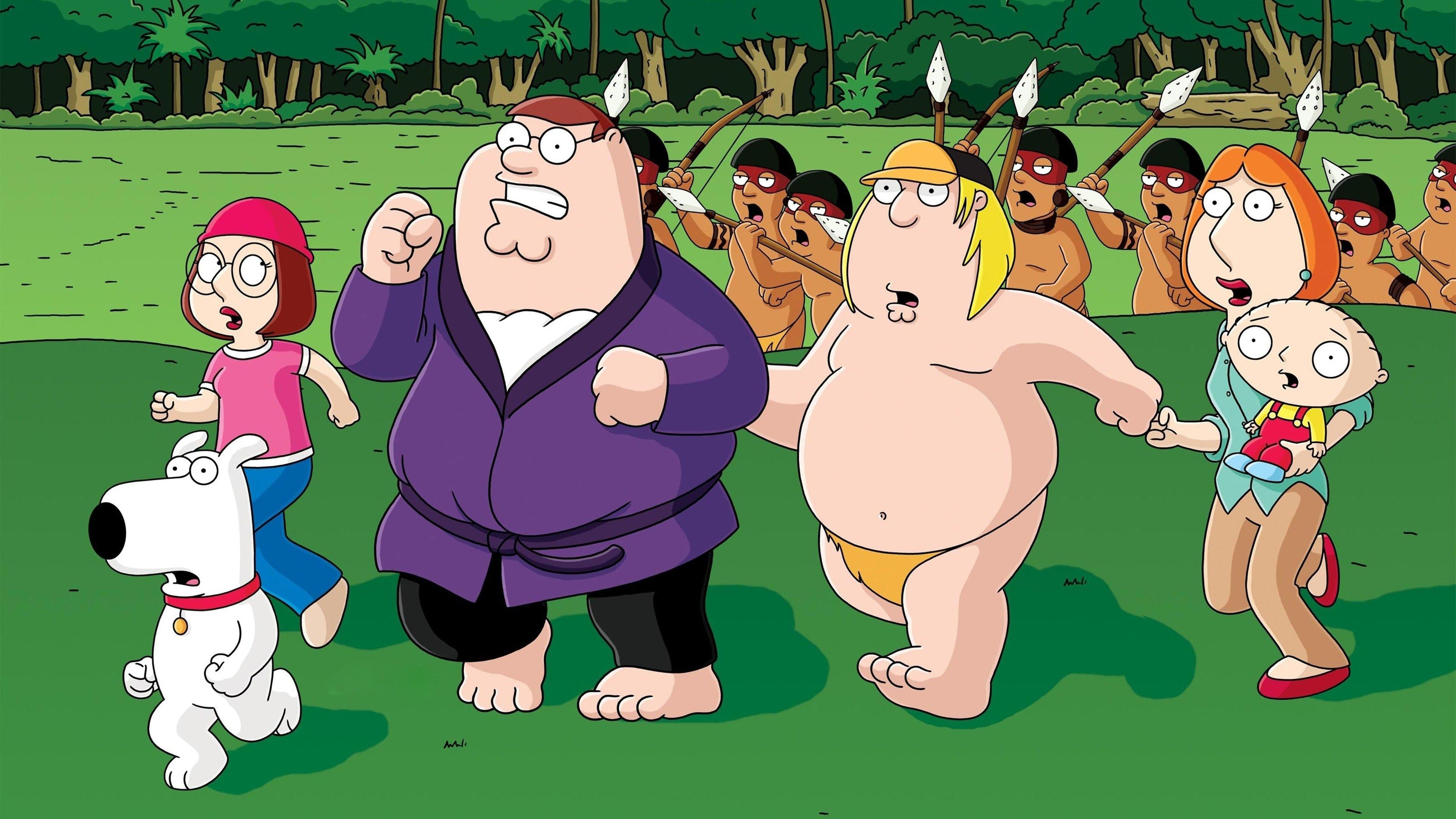Family Guy Season 4 :Episode 13  Jungle Love