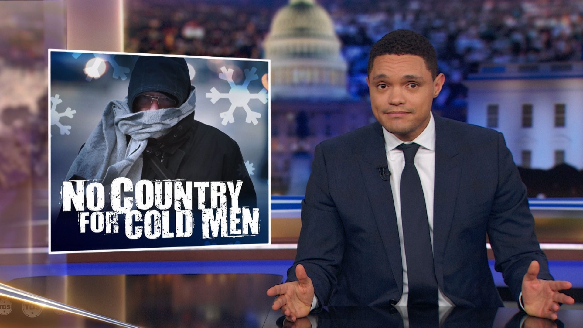 The Daily Show with Trevor Noah Season 24 :Episode 53  Chris Christie