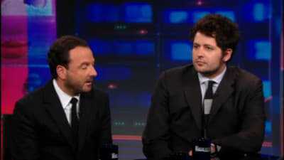 The Daily Show with Trevor Noah Season 18 :Episode 109  Maxim Pozdorovkin & Mike Lerner