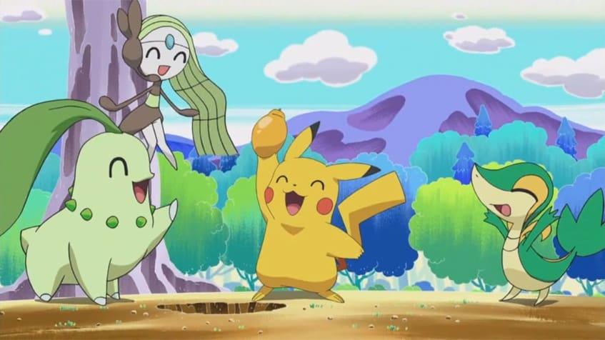 Pokémon Season 0 :Episode 26  Sing Meloetta: Search for the Rinka Berries