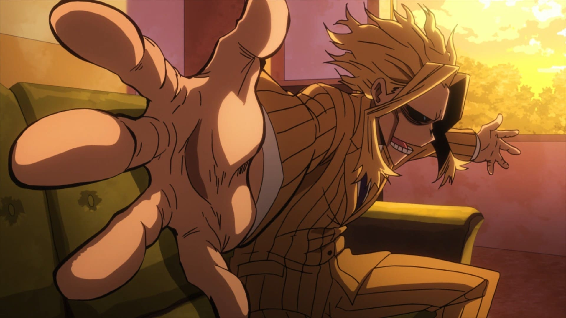 My Hero Academia Season 2 :Episode 20  Listen Up!! A Tale from the Past