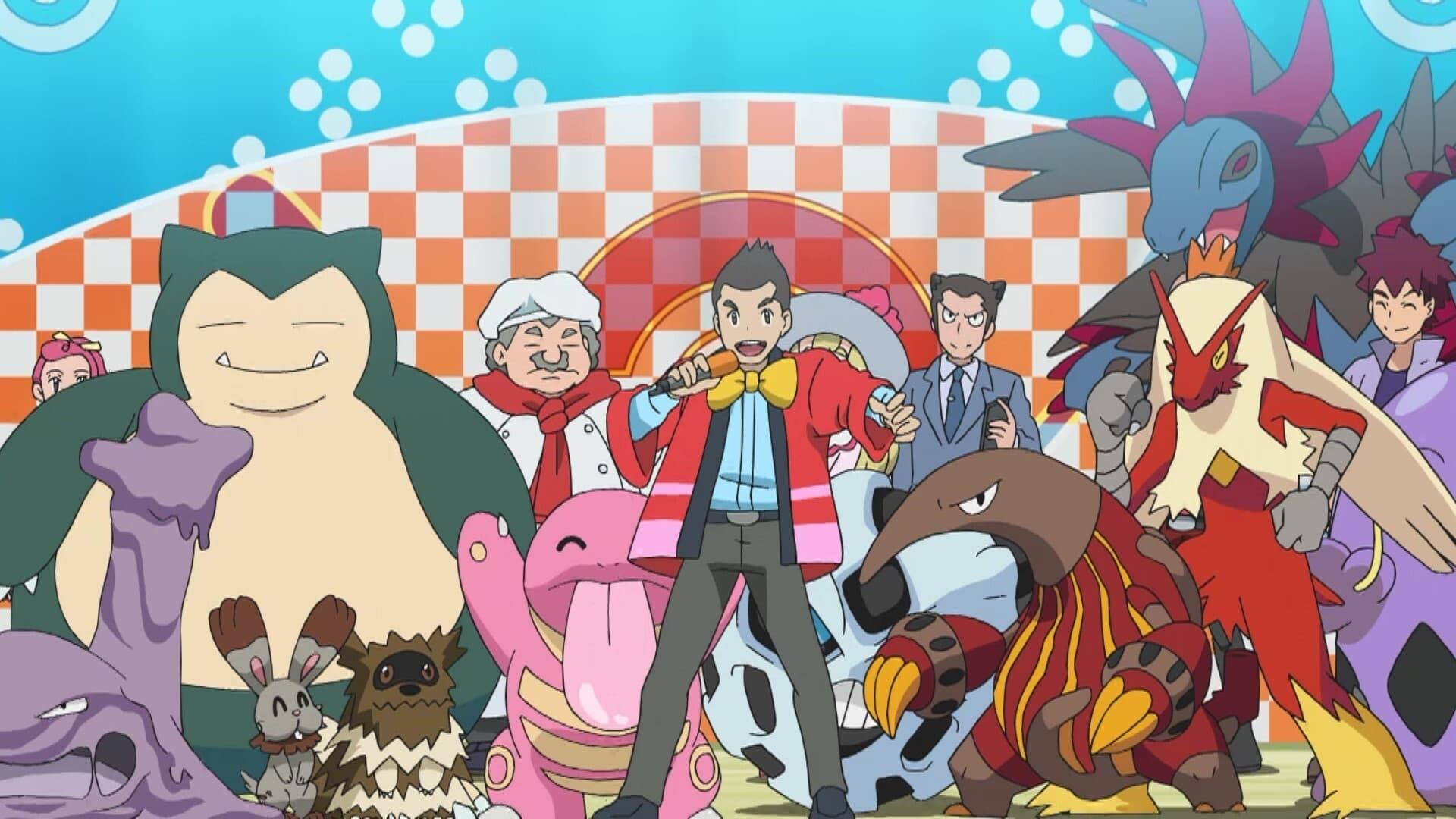 Pokémon Season 23 :Episode 47  Pokémon Champion! Gluttony King Decision Battle!!