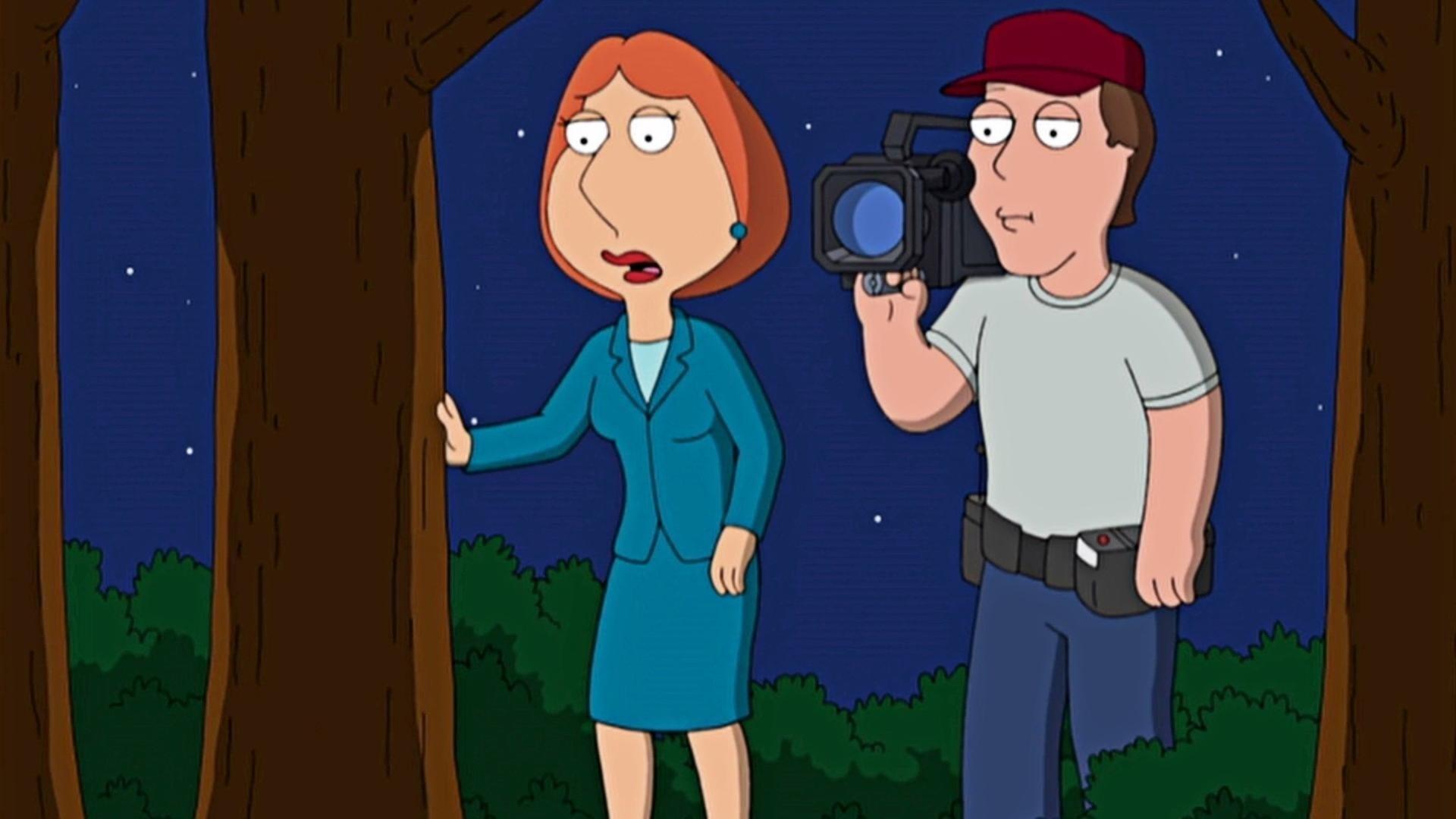 Family Guy Season 7 :Episode 10  FOX-y Lady