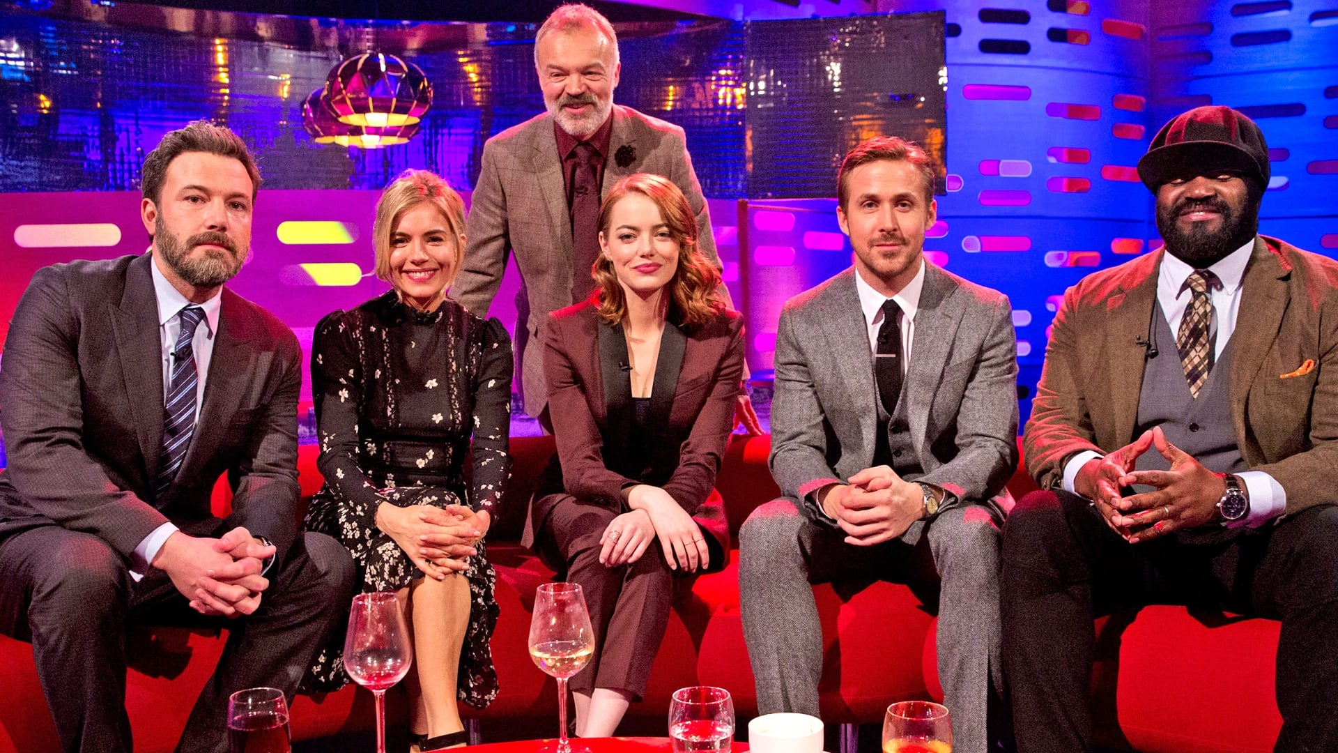 The Graham Norton Show Season 20 :Episode 13  Ben Affleck, Sienna Miller, Ryan Gosling, Emma Stone and Gregory Porter