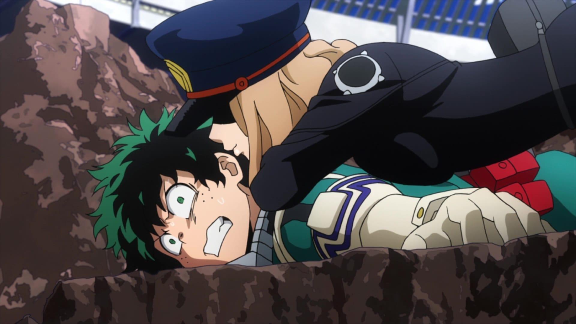 Season 3 :Episode 16  Shiketsu High Lurking