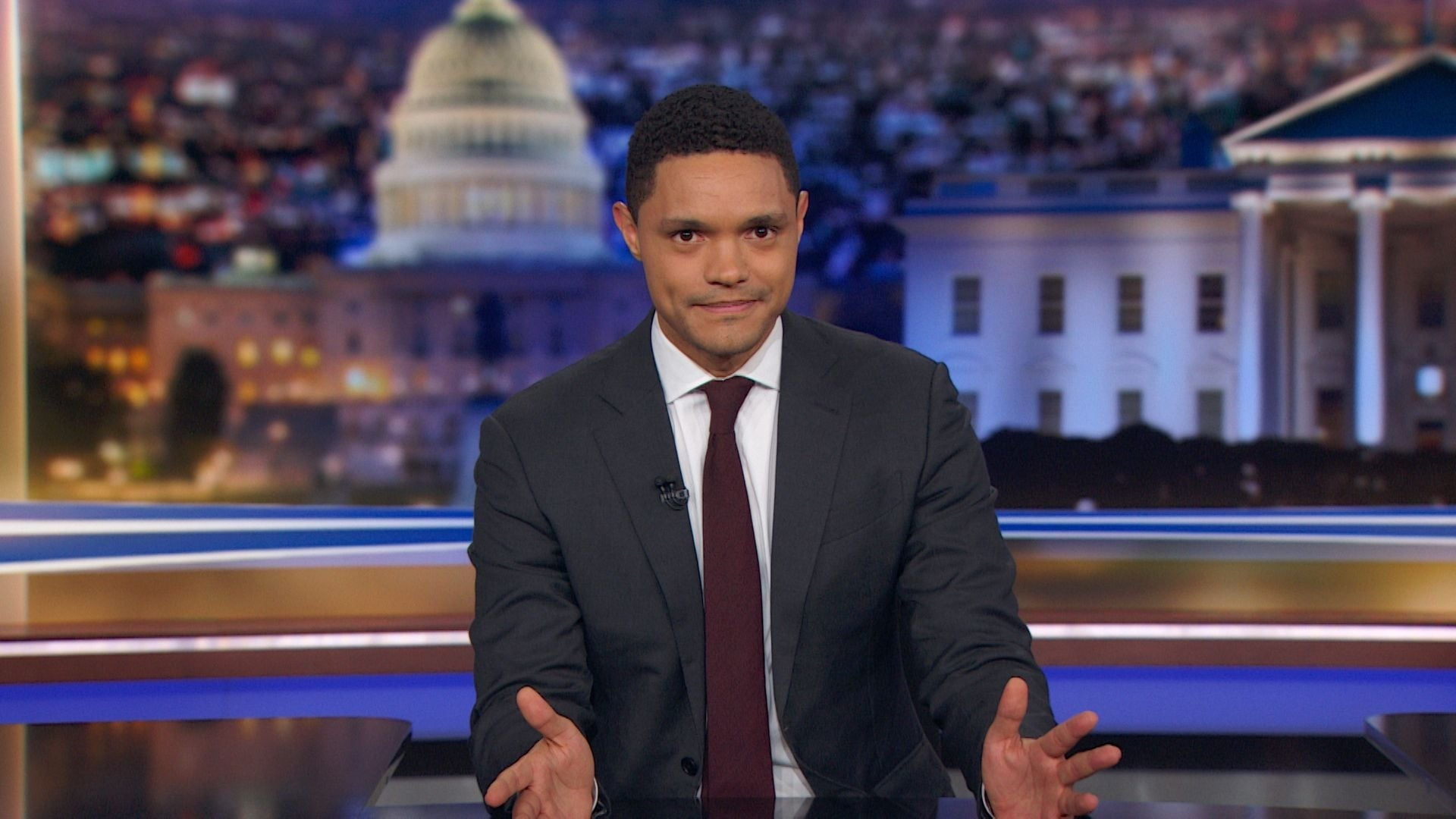 The Daily Show with Trevor Noah Season 24 :Episode 17  Jamil Smith