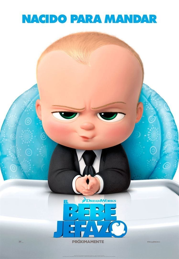 Póster El bebé jefazo