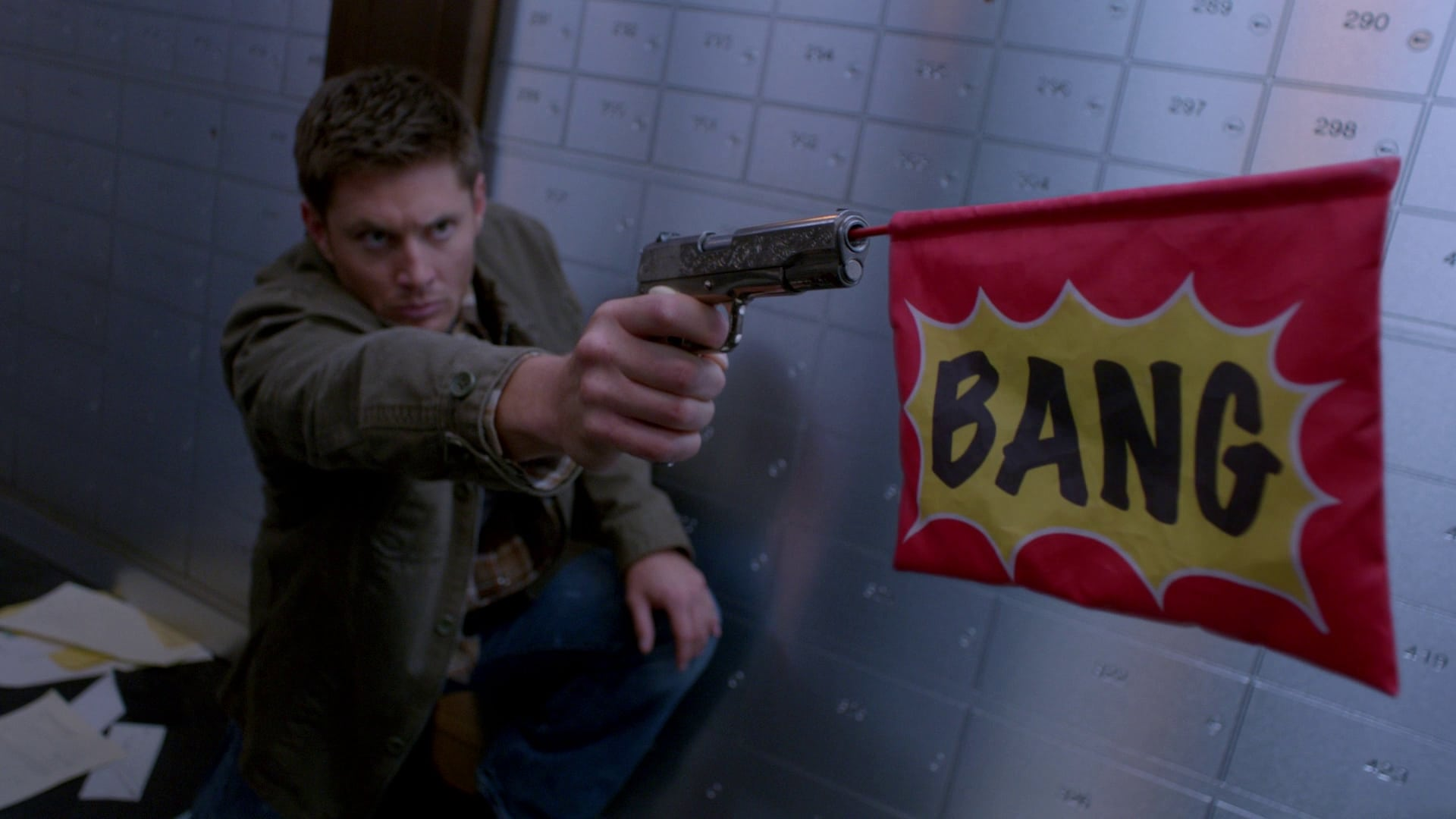 Supernatural Season 8 :Episode 8  Verzerrte Gegenwart
