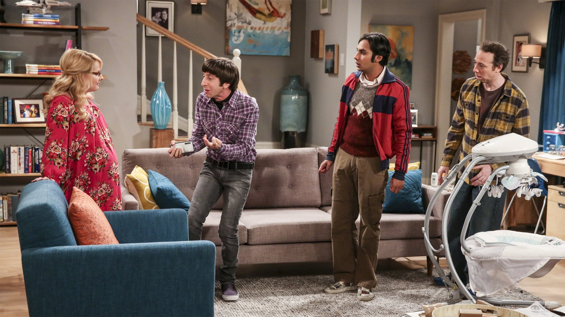 The Big Bang Theory Season 10 :Episode 10  The Property Division Collision
