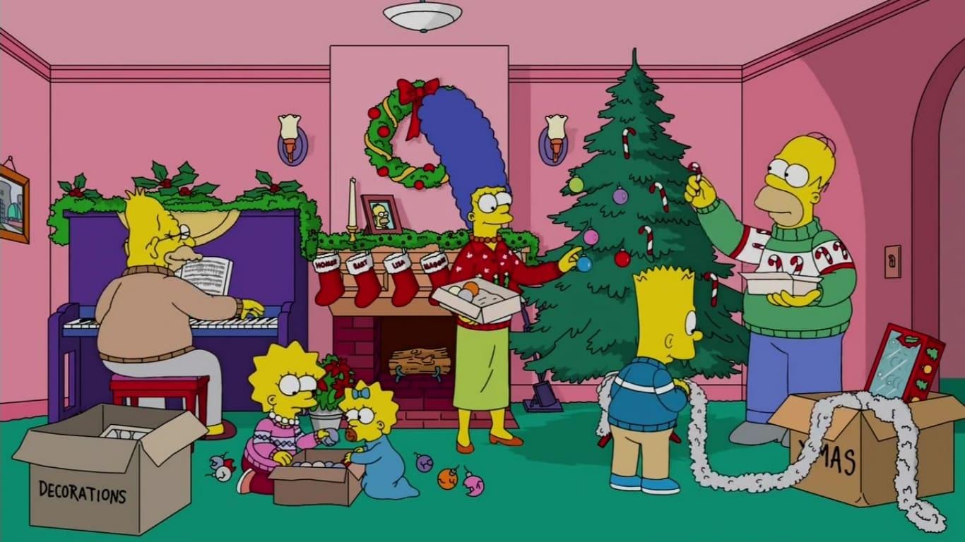The Simpsons Season 28 : The Nightmare After Krustmas