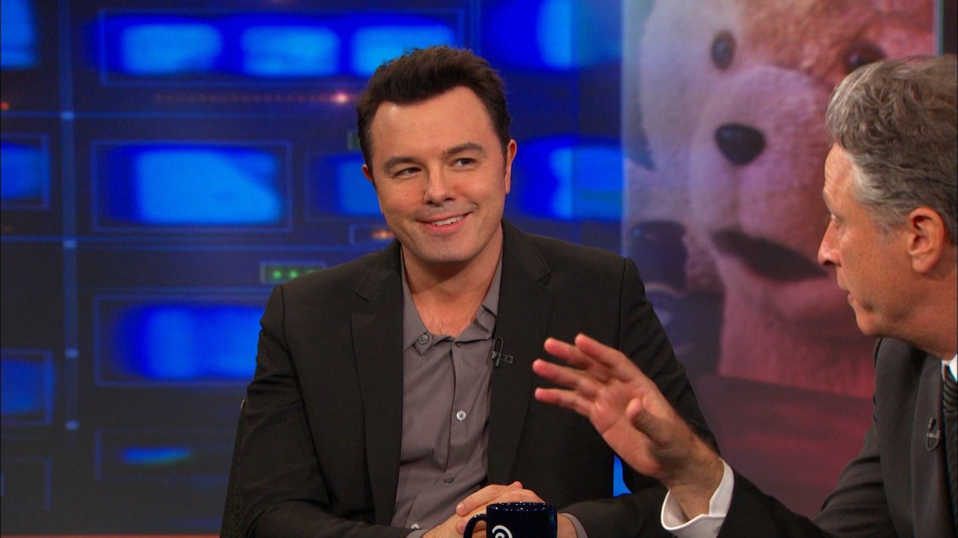 The Daily Show with Trevor Noah Season 20 :Episode 124  Seth MacFarlane