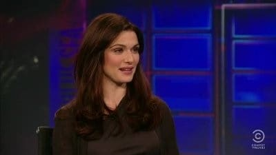 Season 17 :Episode 74  Rachel Weisz