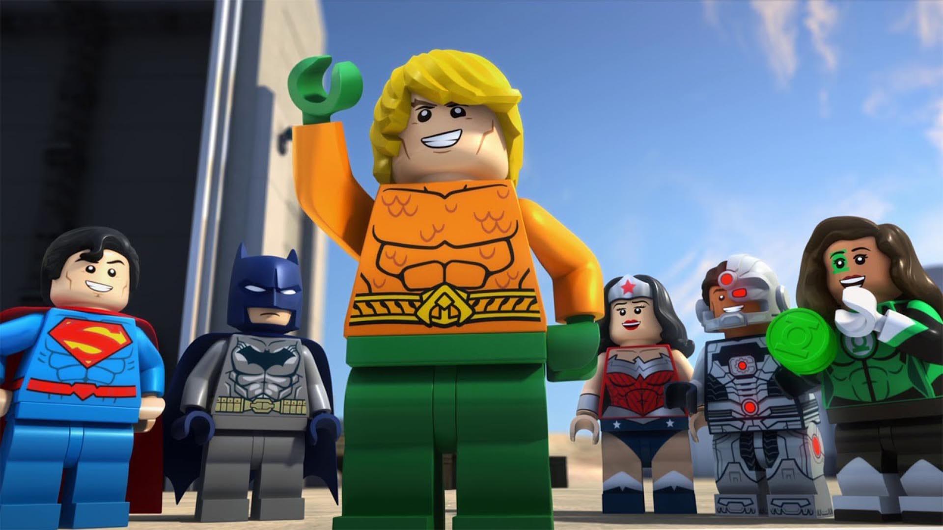 乐高dc超级英雄:亚特兰蒂斯之怒