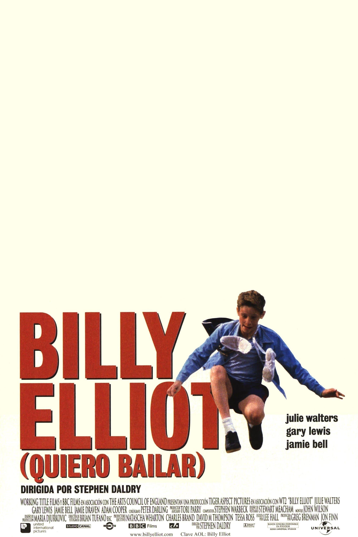 Póster Billy Elliot (Quiero bailar)