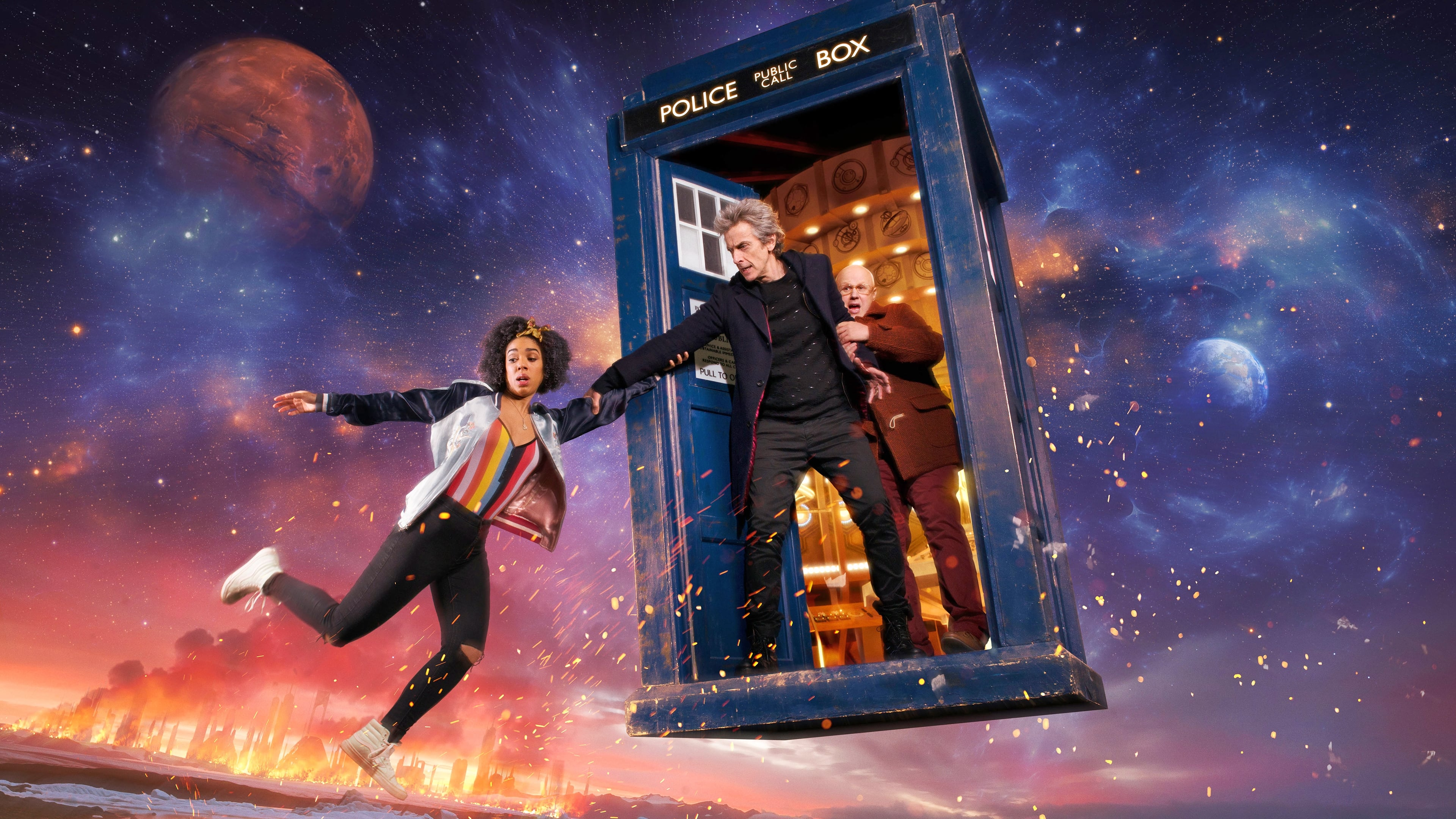Doctor Who Season 10 :Episode 1  Flucht durchs Universum