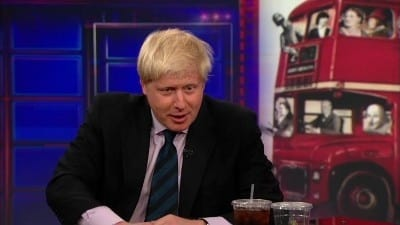Season 17 :Episode 111  Boris Johnson