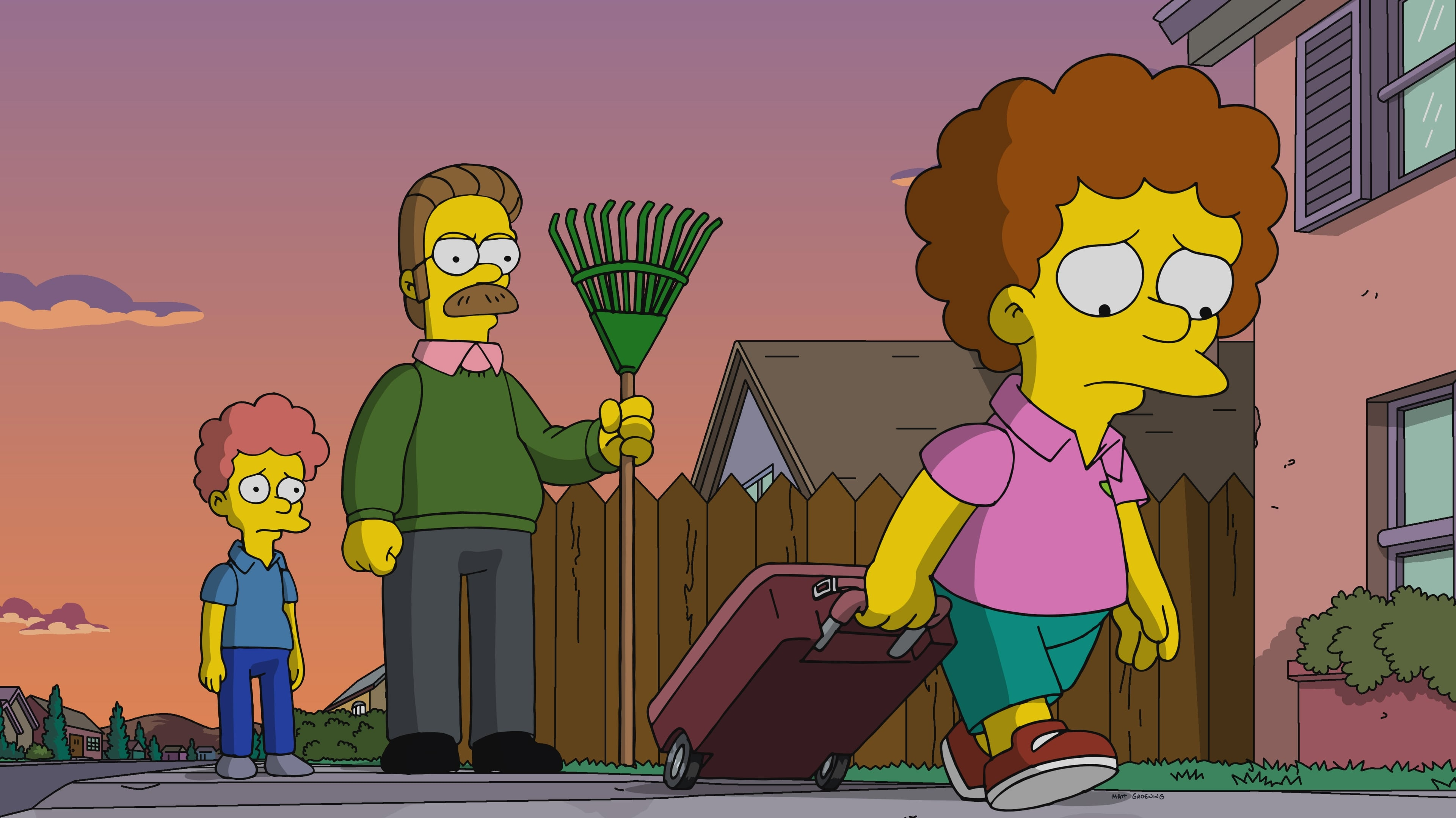 The Simpsons Season 31 :Episode 9  Todd, Todd, Why Hast Thou Foresaken Me?