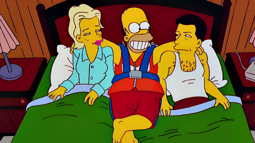 The Simpsons Season 10 :Episode 5  When You Dish upon a Star