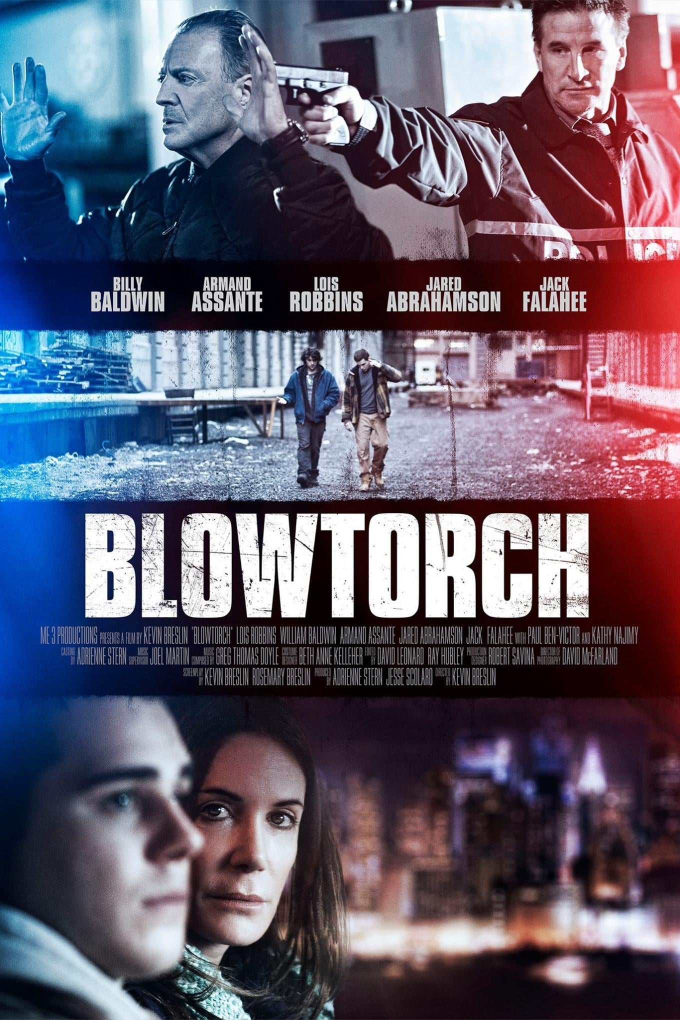 Póster Blowtorch