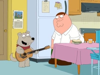 Family Guy Season 7 :Episode 5  The Man with Two Brians