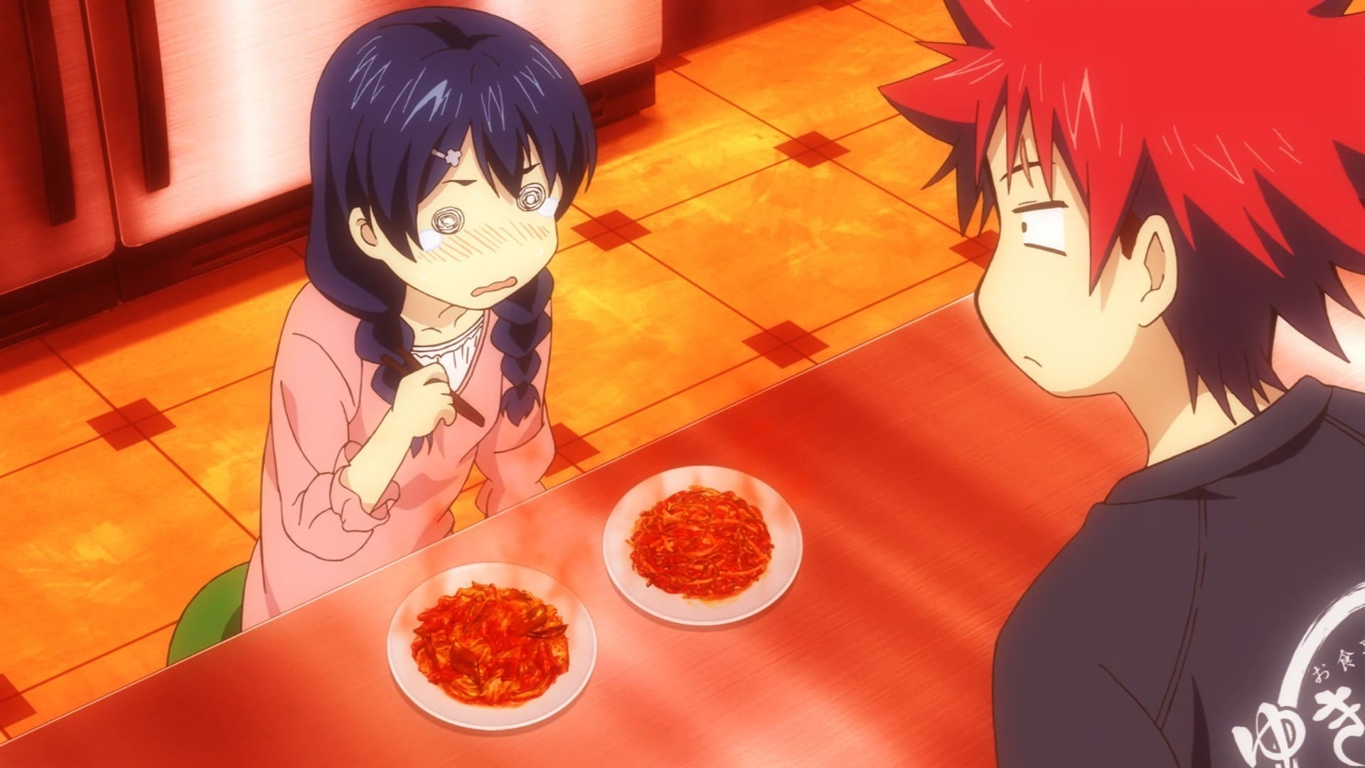 Food Wars! Season 3 :Episode 2  Má and Là