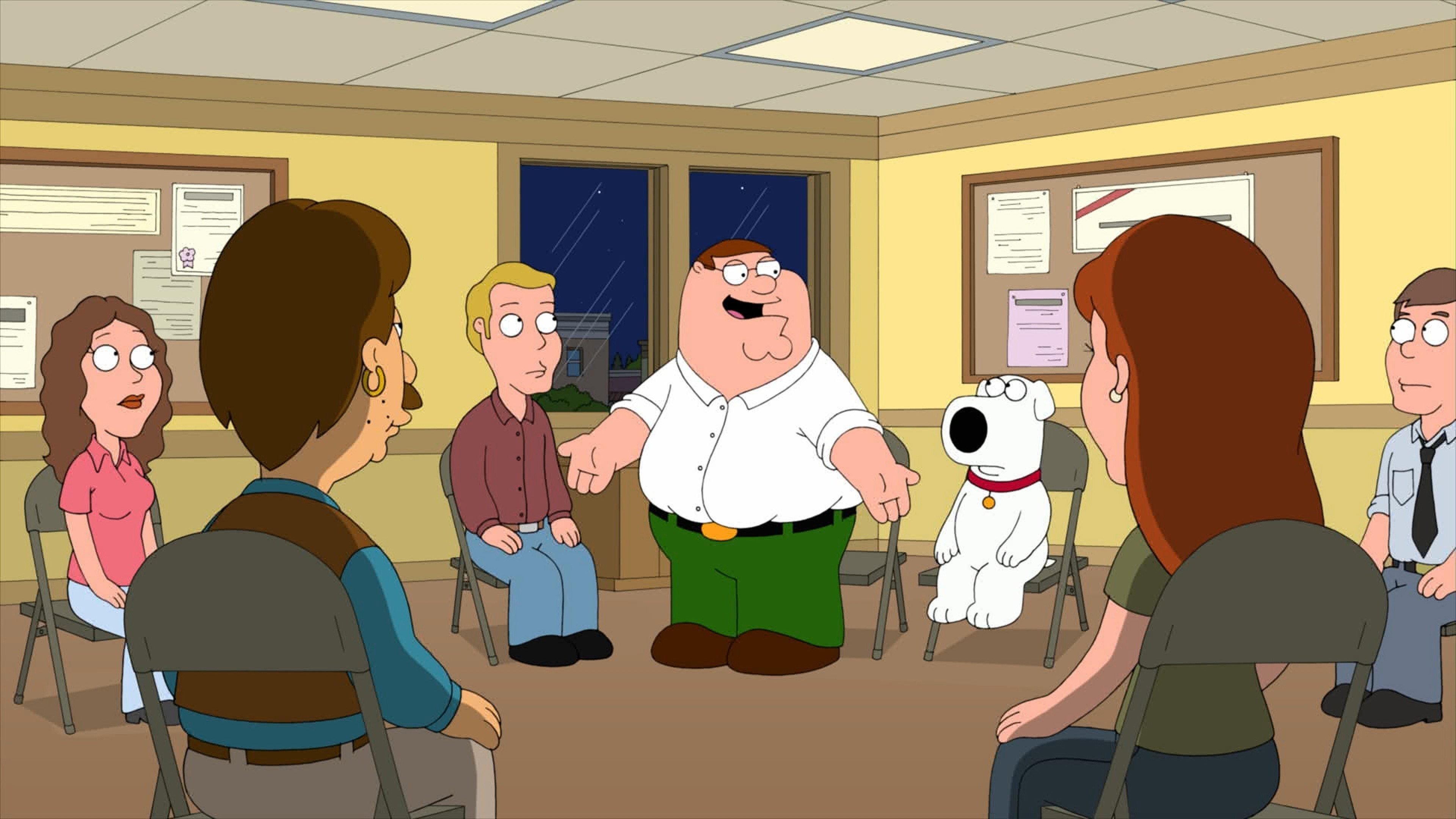 Family Guy Season 9 :Episode 10  Friends of Peter G.