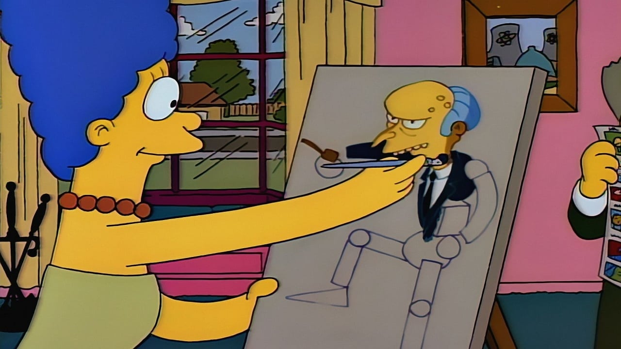 The Simpsons Season 2 :Episode 18  Brush with Greatness
