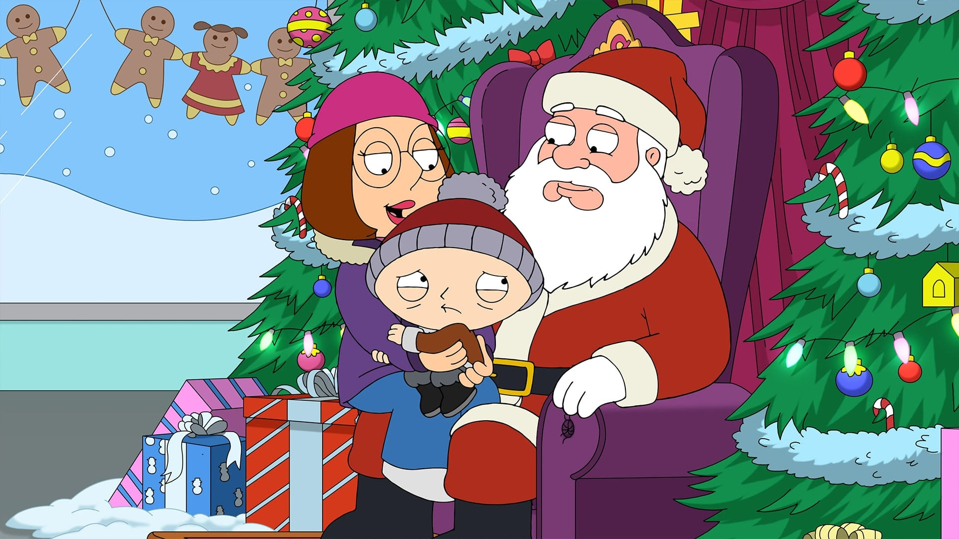 Family Guy - Season 18 Episode 9 : Christmas is Coming