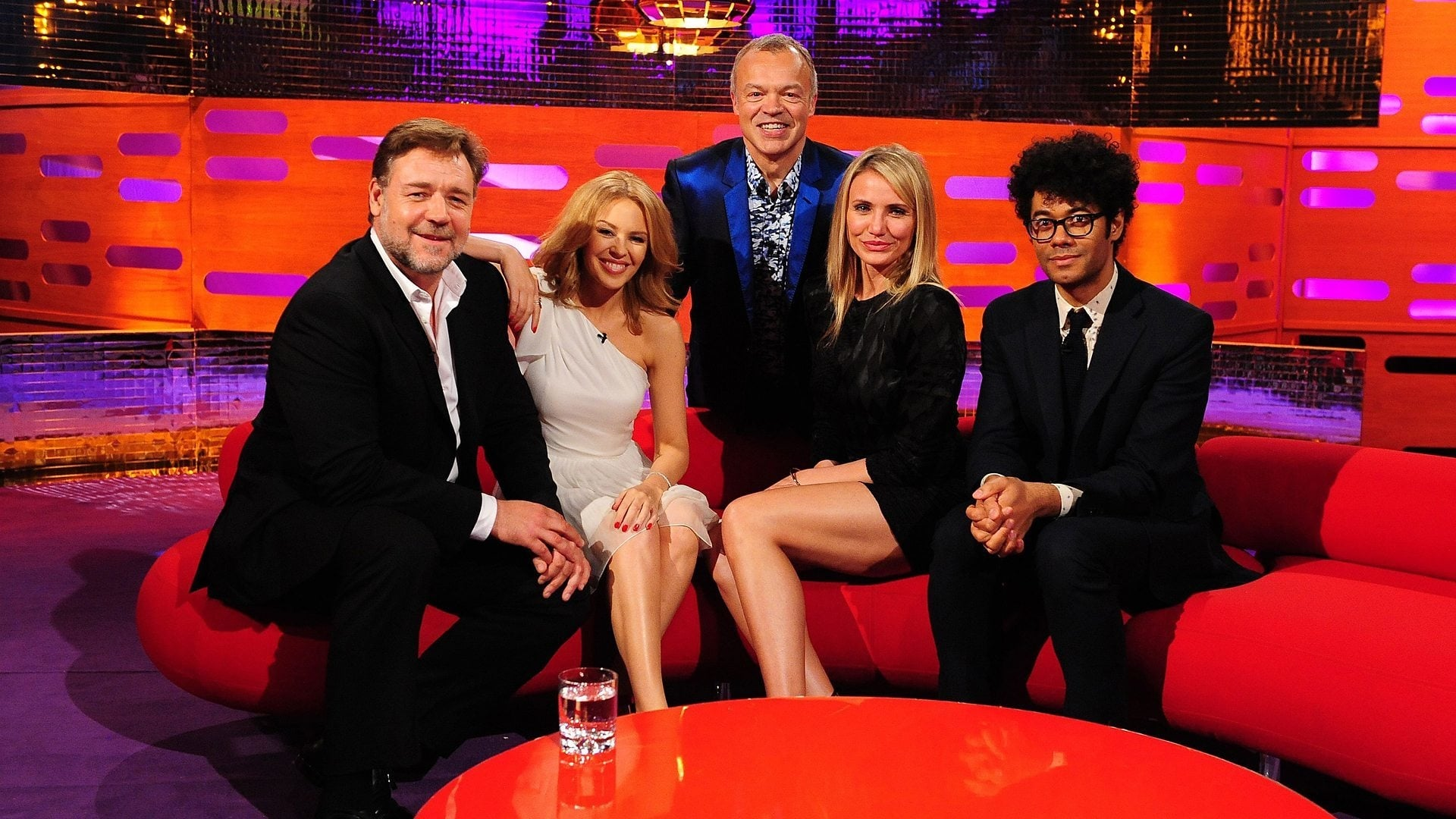 The Graham Norton Show Season 15 :Episode 1  Russell Crowe, Cameron Diaz, Richard Ayoade, Kylie Minogue