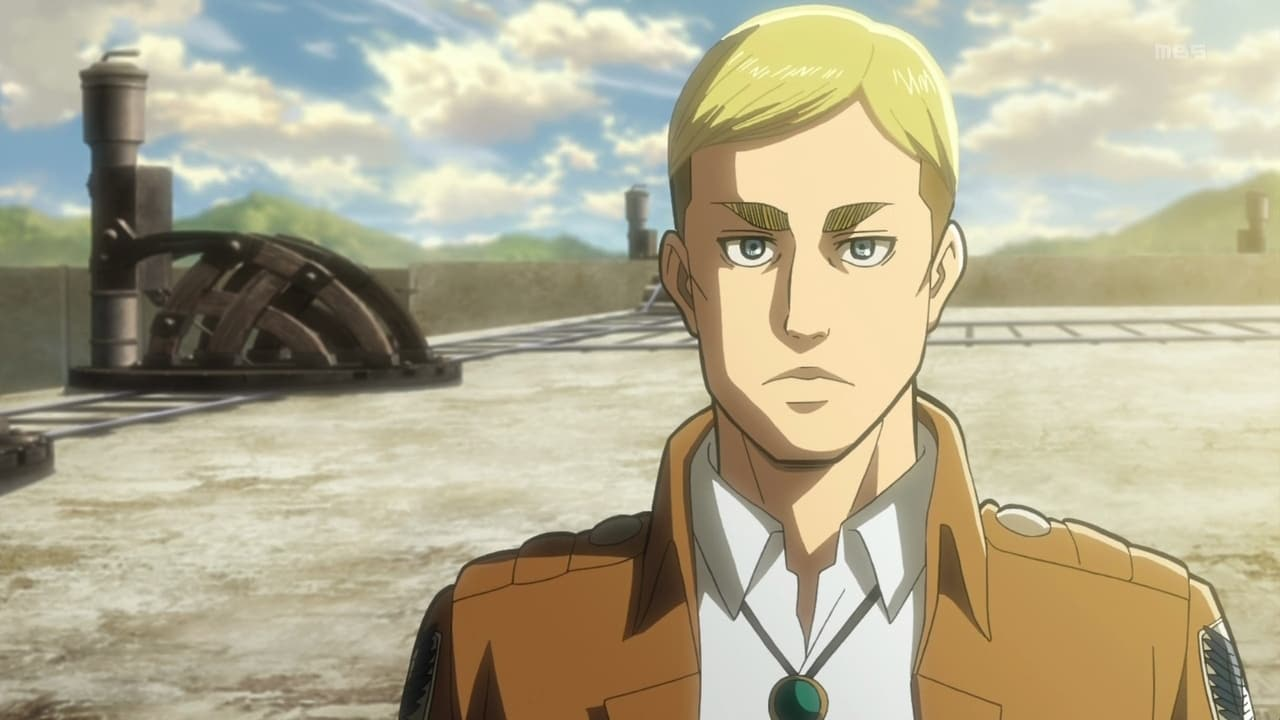 Attack on Titan Season 1 :Episode 14  Can't Look into His Eyes Yet: Eve of the Counterattack, Part 1