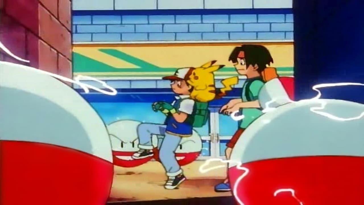 Pokémon Season 2 :Episode 34  The Underground Round Up