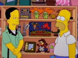The Simpsons Season 8 : Homer's Phobia