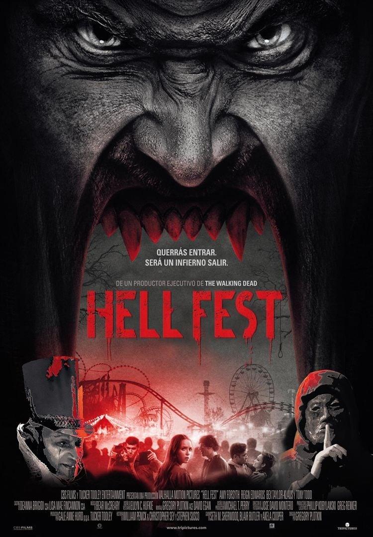 Póster Hell Fest: Juegos Diabólicos